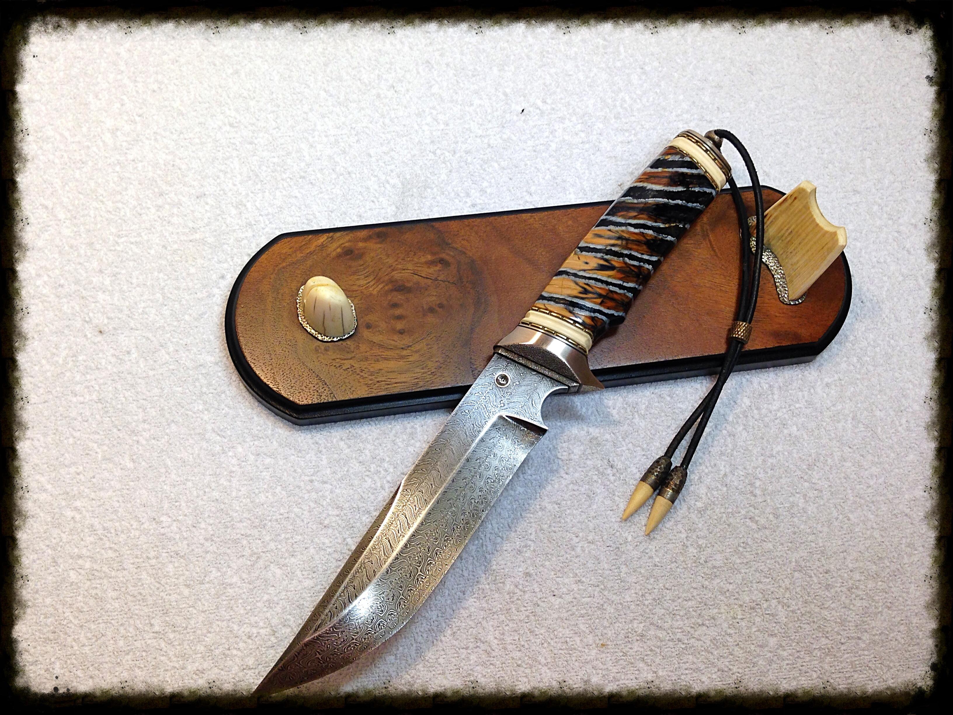 Уникальный нож фото